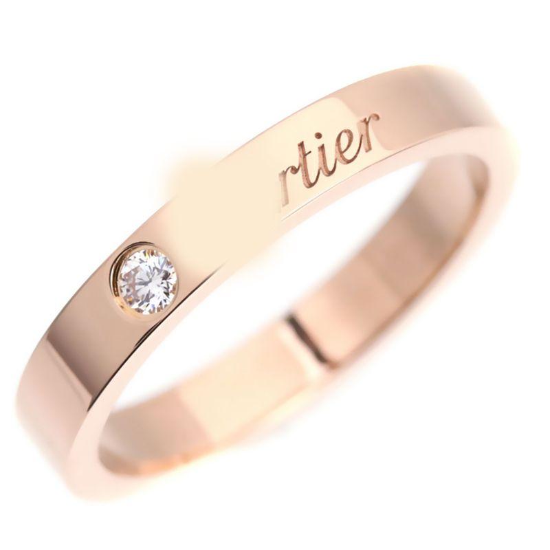 2018 Women C Logo Diamond Rings France Brand Ring Classic Design