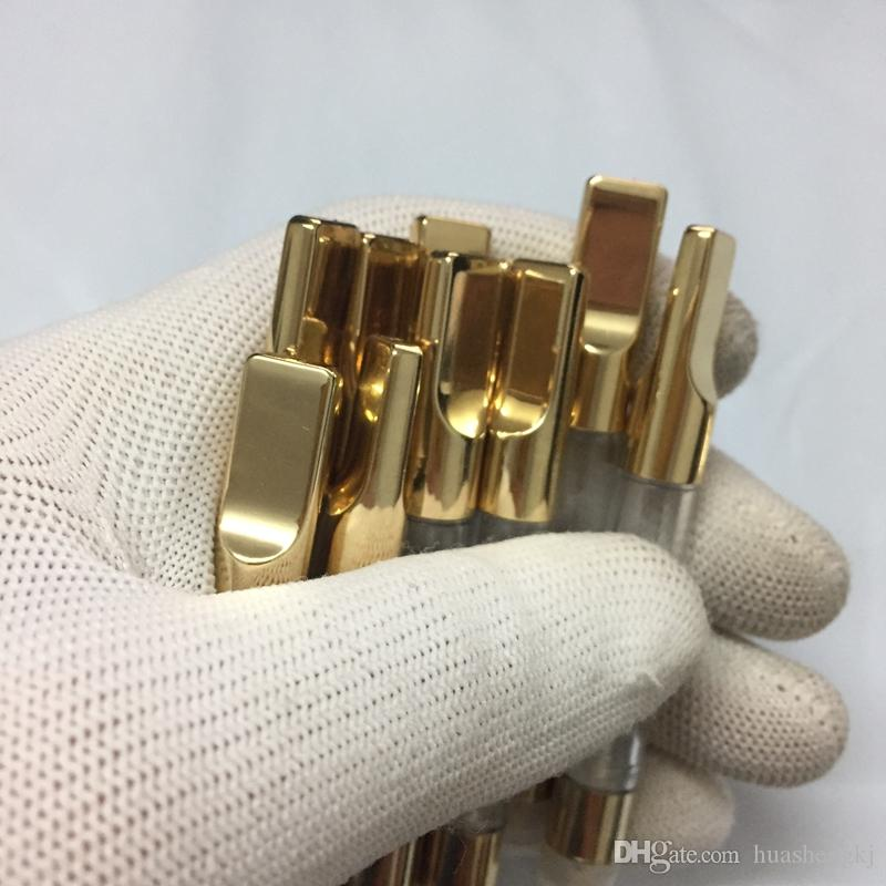 CE3 G2 Gold-Tank-Atomizer O-Stift Vapes Patrone mit Kunststoffrohr-Glas-Behälter Vape Vaporizer 510 Gewinde Mit All Ego Vapor High Quality