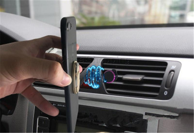 حلقة معدنية حامل الهاتف أزياء نمط حامل الهاتف الخليوي دوران 360 حامل لفون X العالمي جميع الهواتف المحمولة مع حزمة البيع بالتجزئة