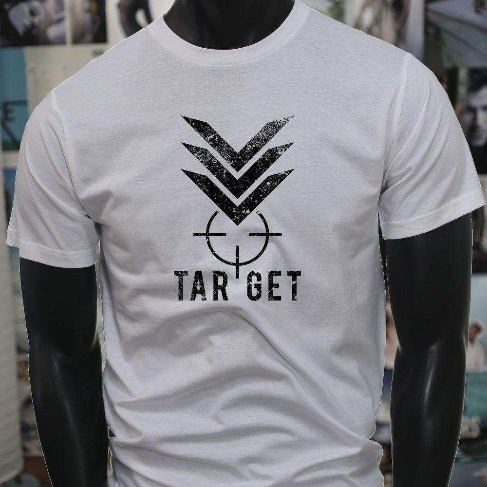 71bd36797b TARGET MILITARY BULLSEYE HUNTER SHOOTING ARMY Mens White T Shirt Funny Tee  Shirts Mens T Shirt From Chylytshirts37, $11.58| DHgate.Com
