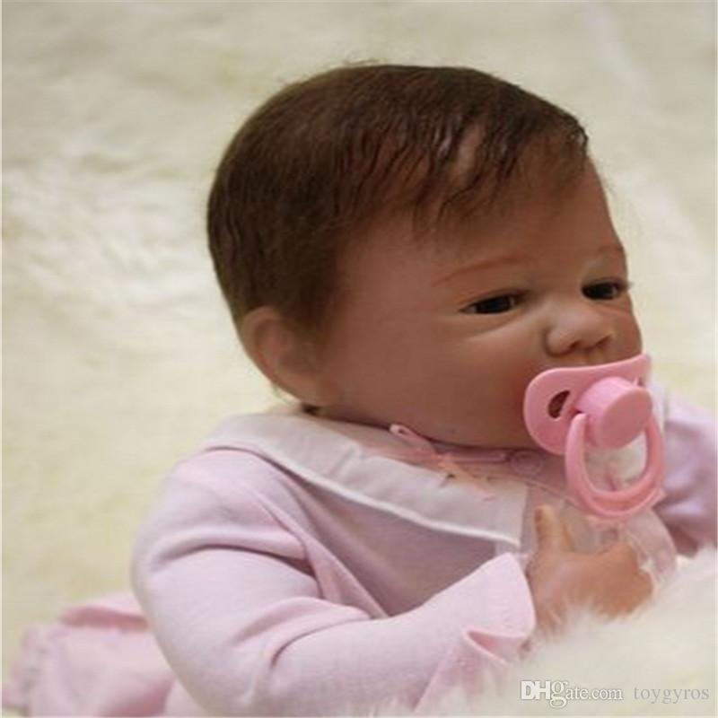 Simulation Of Newborn Baby Soft Rubber Enamelled Plastic, Lifelike ...