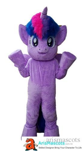Satın Al Yetişkin Boyutu Komik Küçük Mor Pony Alacakaranlık Sparkle