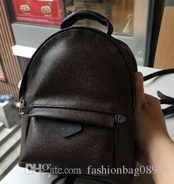 NEW 2018 BAG 100% Leather NEW PALM SPRINGS BACKPACK MINI Handbag SMALL NEW  PALM SPRINGS BACKPACK MINI HANDBAG Mochilas Jansport School Backpacks From  ... e6df91d91be2c