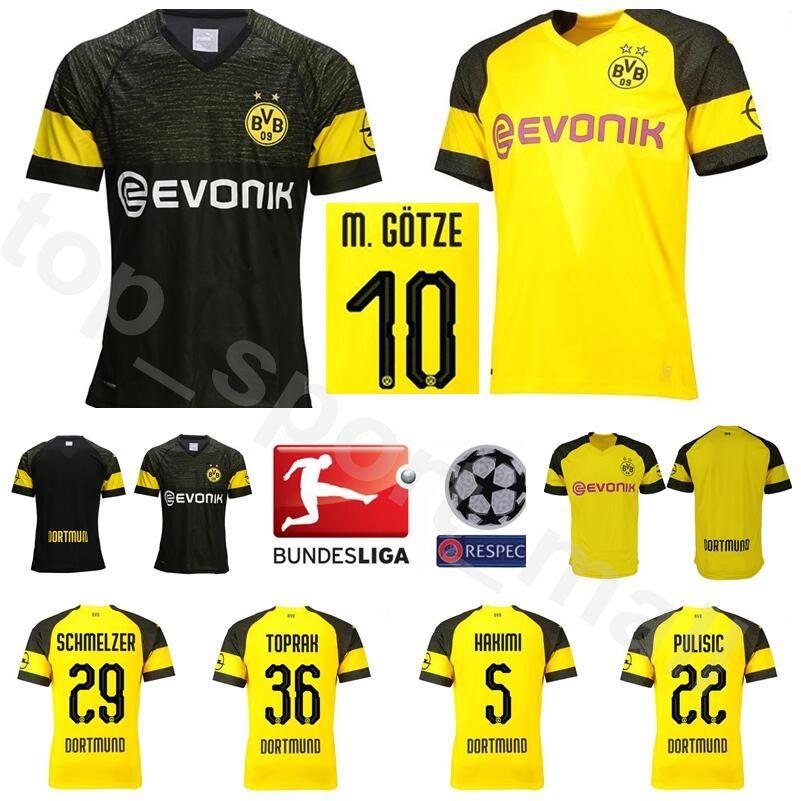 ... release date 2018 18 19 season bundesliga bvb soccer jersey fc borussia  dortmund men 29 schmelzer 803418f69