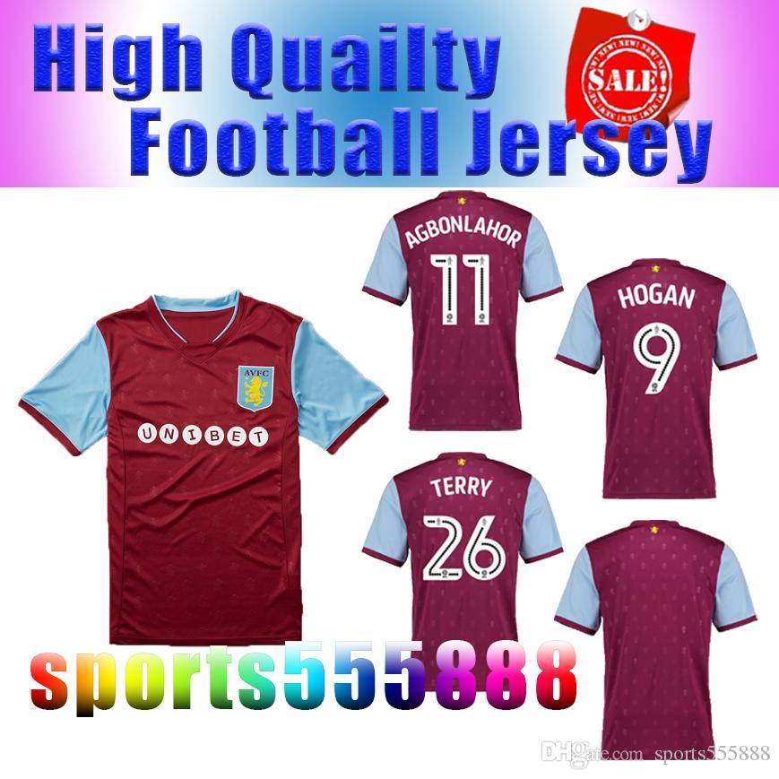 Compre 2017 2018 Aston Villa Melhor Camisa De Futebol Camisa 17 18 Aston  Villa Futebol Camisa Terry Uniforme De Futebol Em Casa Vendas De  Sports555888 7c78923101543