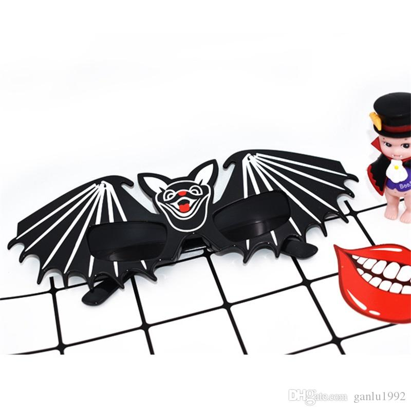 Funny Glasses Horrible Bat Unique Design For Halloween Masquerade Decoration Props Special Shape Fashion Sunglasses New Arrive 8 5sf Z