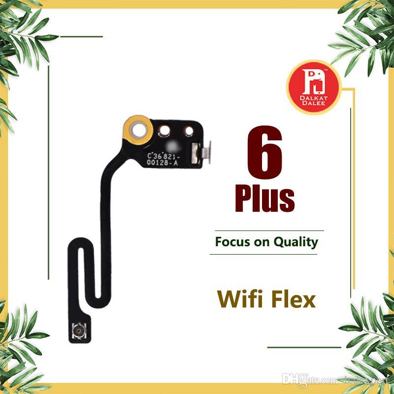 Wifi Flex Cable para iPhone 6 Plus 5,5 pulgadas plana Wifi Antena Antena inalámbrica Señal aérea Flex Cable Repuesto Repuestos