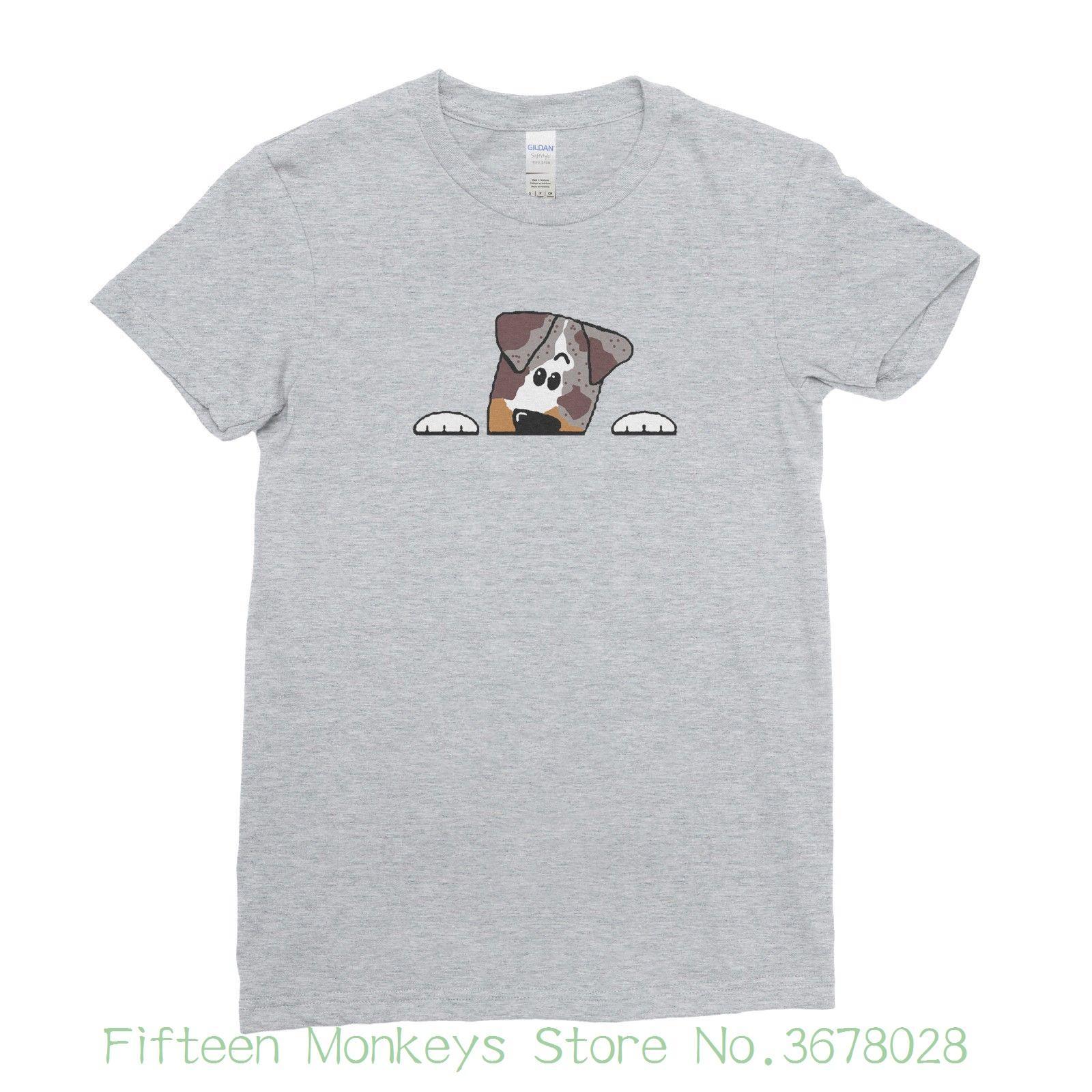 Tee Mujeres Linda Animados De Venta Dibujos Top Perro Historieta Las Animal La Mascota Camiseta Del Amante Fresca O0Nm8nvw