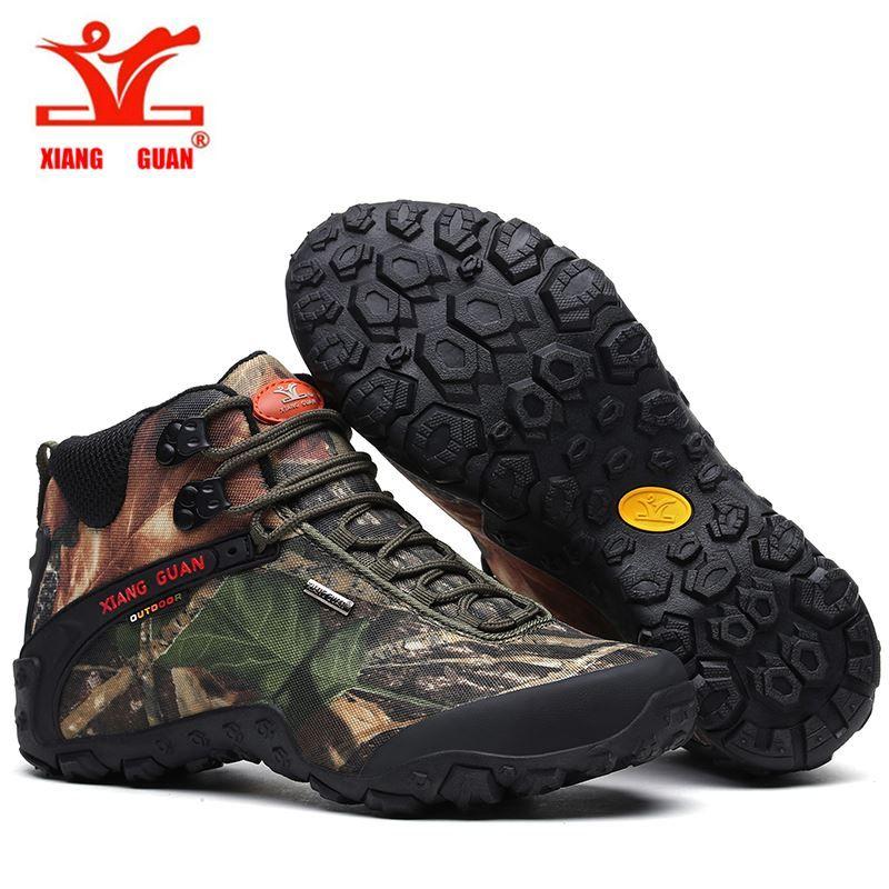 ... XIANGGUAN 82289 Waterproof Hiking Boots Women S Outdoor Hiking Shoes  For Men Antislip Athletic Trekking Boots ... 23c143847