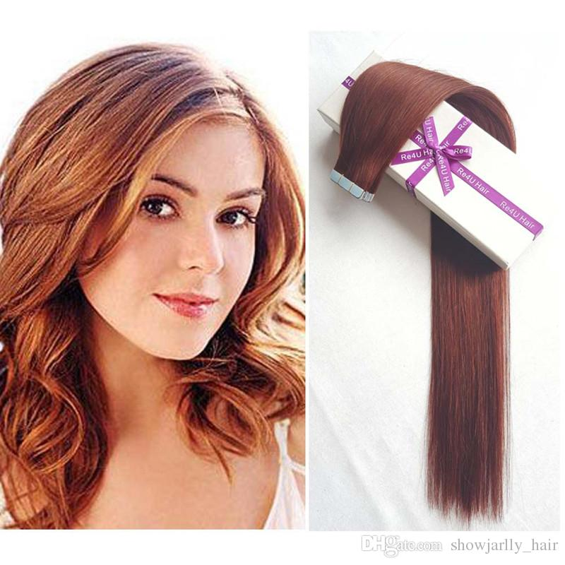 100 Brazilian Real Human Hair Extensions 16 Inch 30g Double Sided