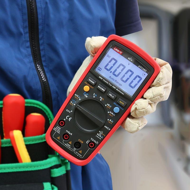 UNI-T UT139C Digital True RMS Multimeter Tester Ammeter Multimetro Auto Range