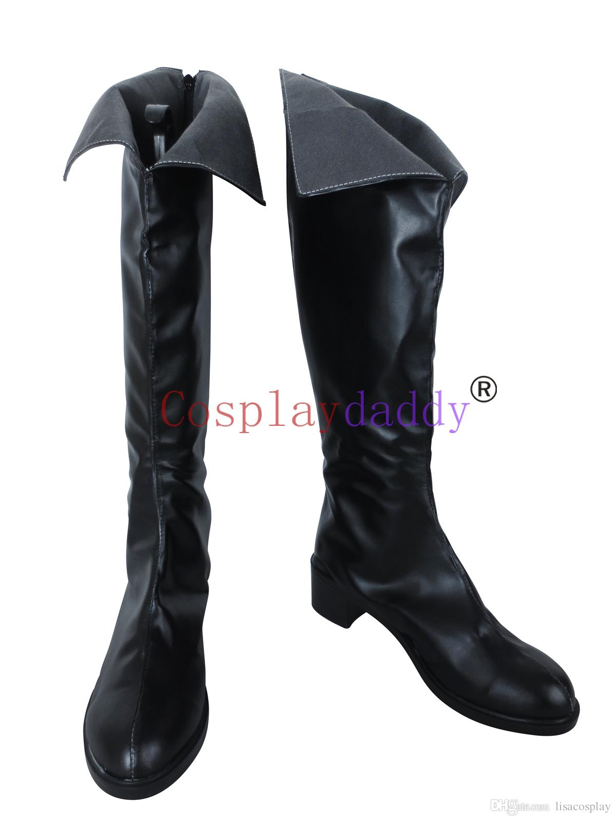 Seraph of the End Krul Tepes Cosplay Costume Boots Boot Shoes Shoe