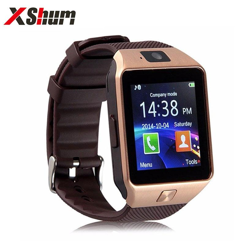 XShum Smartwatch DZ09 Fashion Call Reminder 2G Electronics Men Smart Watch Compatible Android IOS Support Sim TF Card