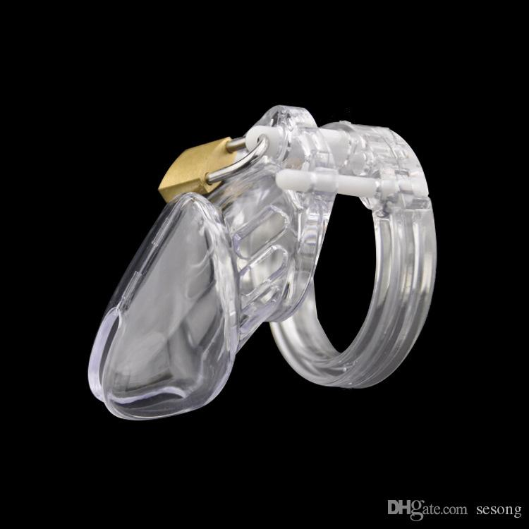 CB6000S Black Male Chastity Device With 5 Sizes Penis Ring,Cock Cage,Virginity Lock,Cock Ring,Chastity Lock/Belt Sex Toy For Man