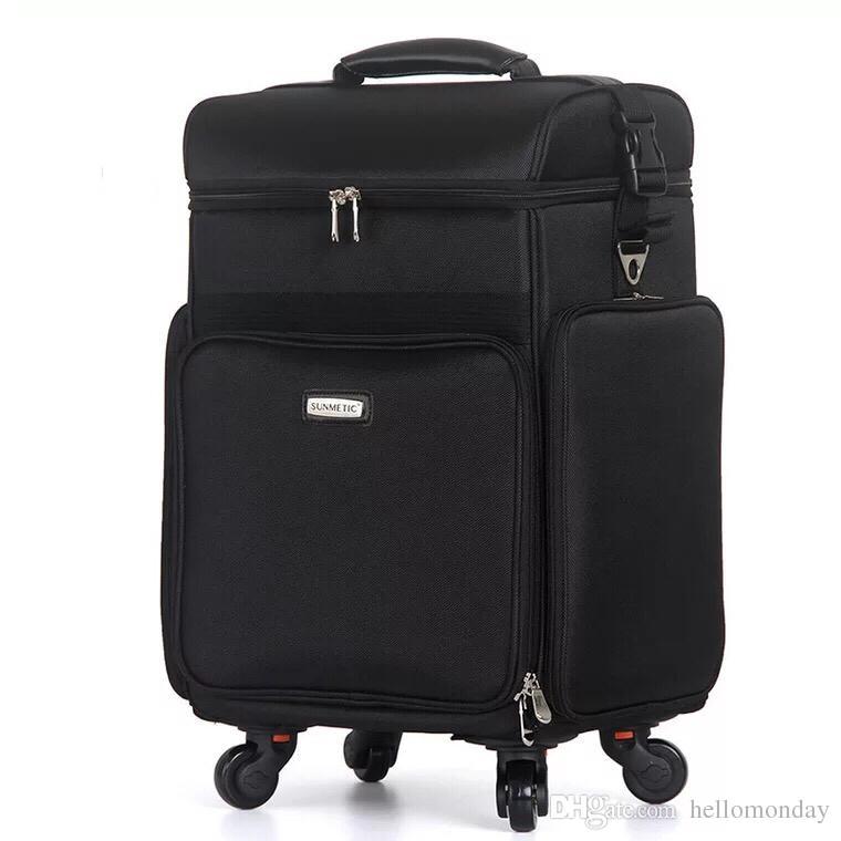 Makeup Suitcase On Wheels Makeup Vidalondon