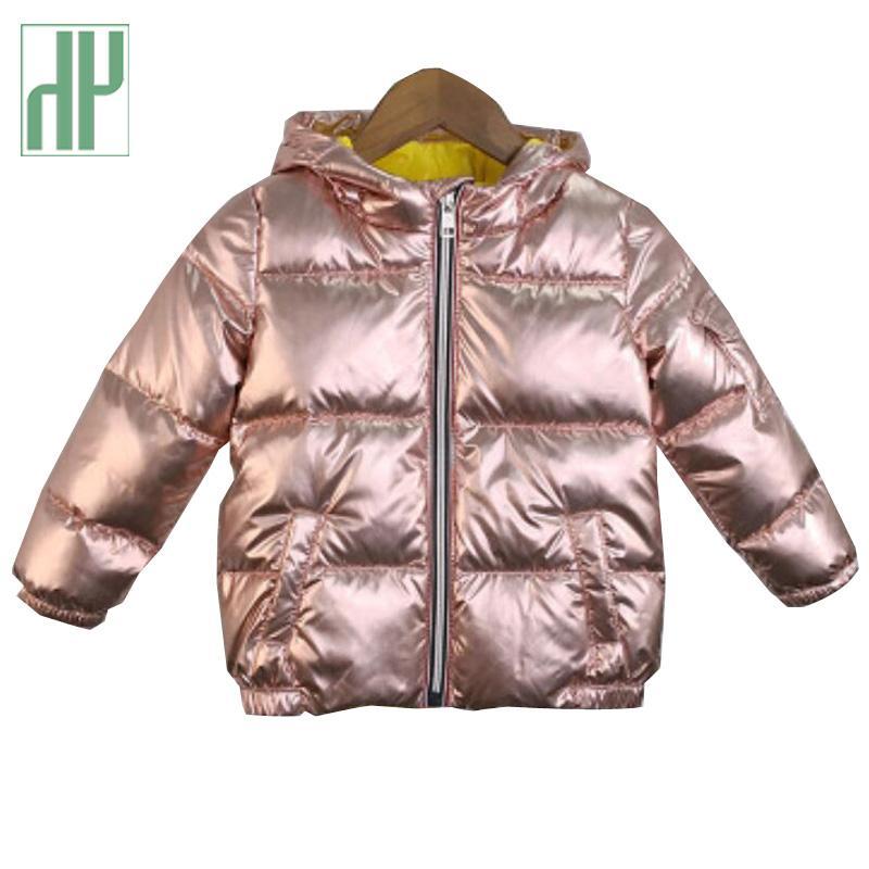 d5fd965c8 HH Boys Coats Winter Jacket Kids Down Cotton Coat Waterproof Snowsuit  Silver Gold Hooded Parka Girls Down Coats Girl Winter Toddler Winter Coat  Sale Parka ...