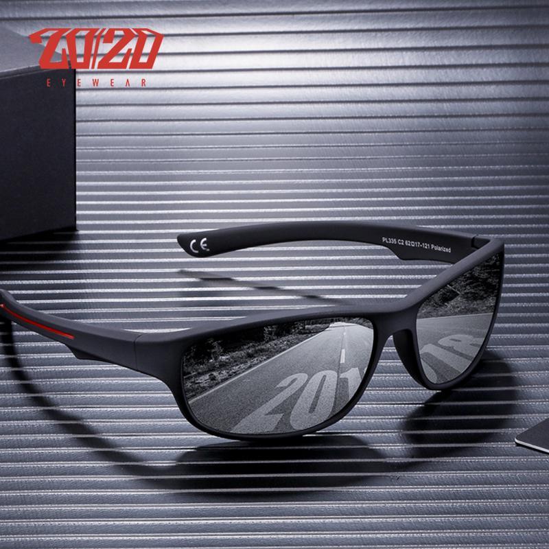 Compre 20 20 Diseño De Marca Gafas De Sol Polarizadas Hombres Viajan Gafas  De Sol Moda Para Hombre Plaza De Plástico Conducción Gafas Oculos De Sol A   34.92 ... 78fde2123d2d