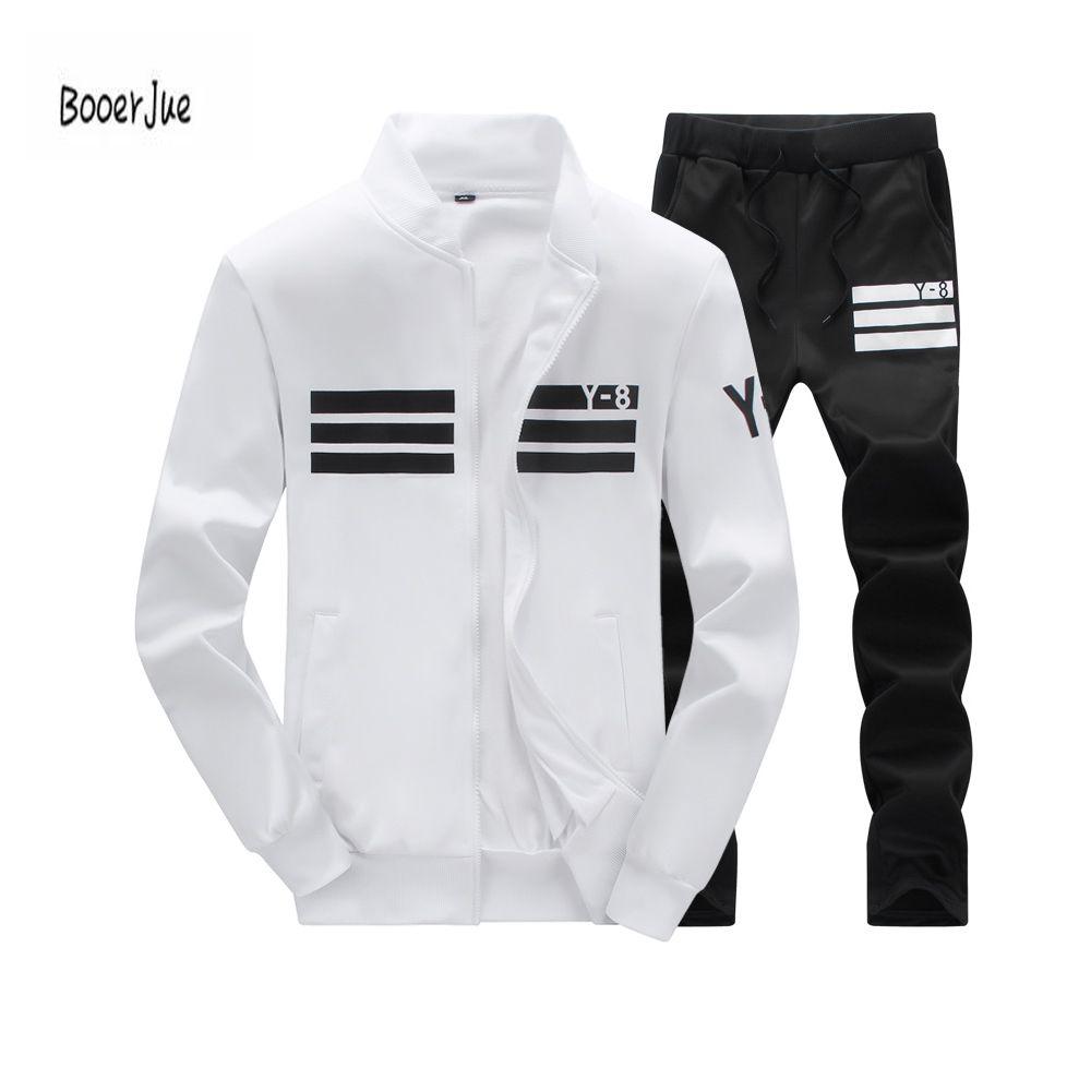 innovative design b2bc5 945be Compre Chándal Con Capucha Para Hombre Fleece Sportswear Chándales  Calientes Sweat Homme Casual Chándal Con Chompa Para Hombre Jacket + Pants  2018 A  26.28 ...
