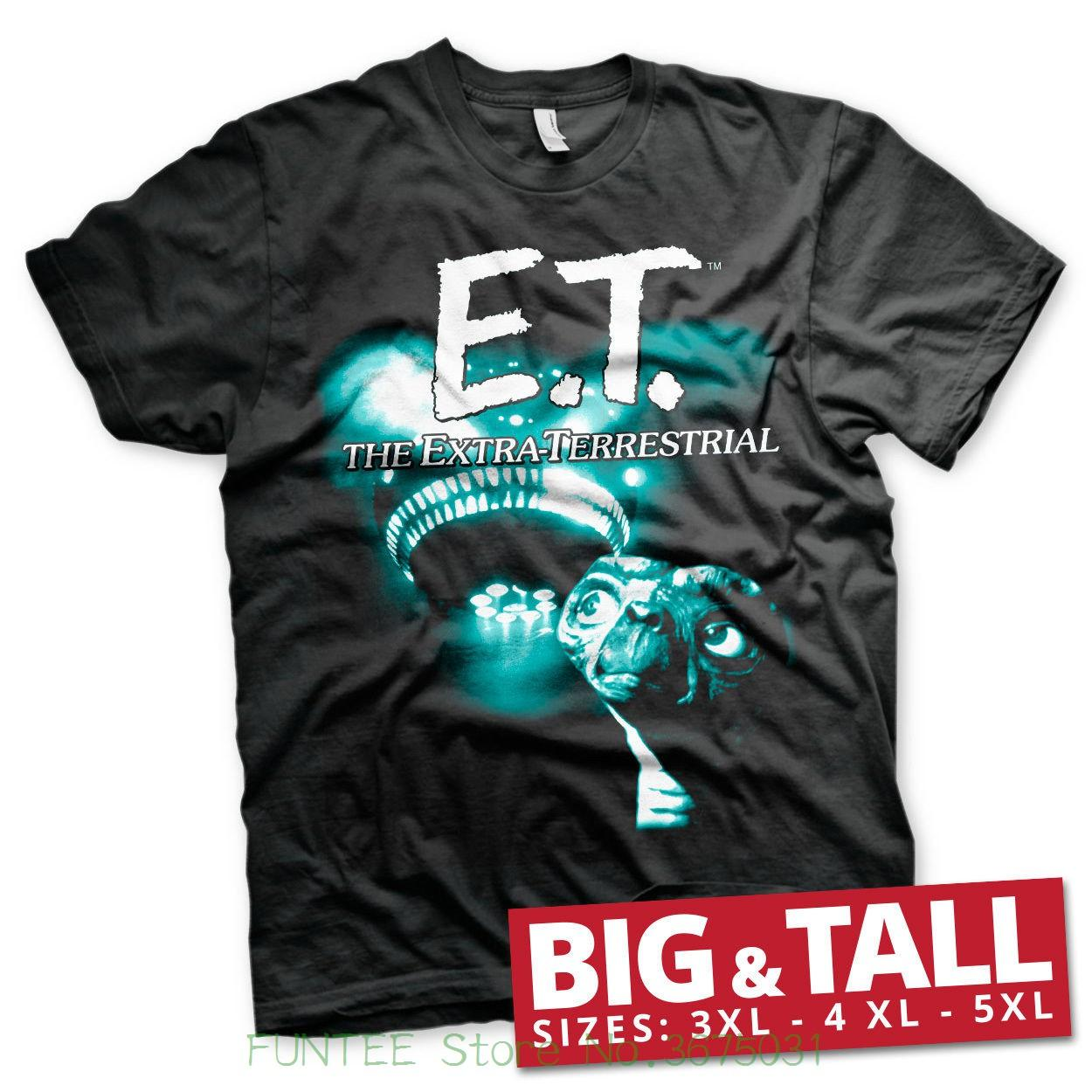 1e579f4123f T Shirts Man Clothing Officially Licensed E.T. Duotone Big   Tall 3xl