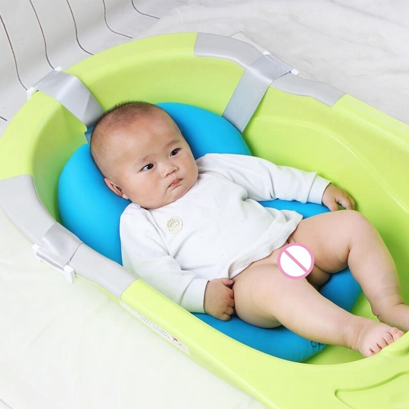 2019 Baby Bath Tub Anti Skid Baby Bathing Mat For Newborn Infant