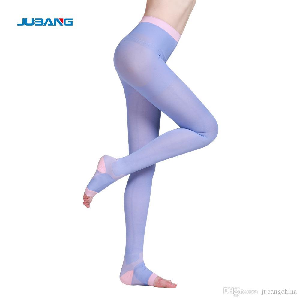 b7d69f31d Women Patterned Diamond Stripe Body Shaper Shaping Pantyhose Tights Socks  Stockings Hosiery