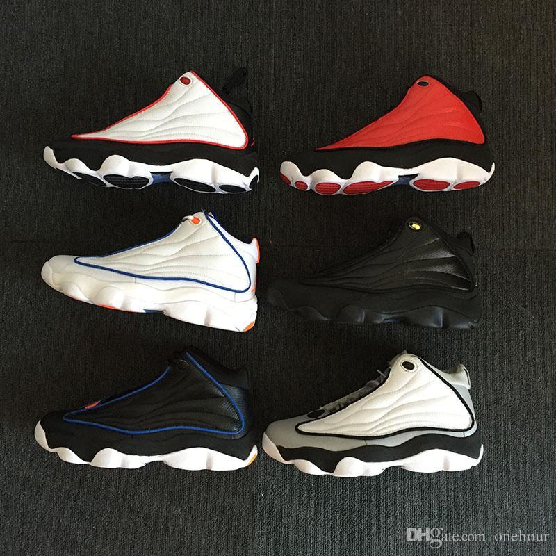d0abf9a852f29 Compre 2018 New Jumpman 13.5 Pro Strong Gym Rojo Negro Blanco Baloncesto  Zapatos Para Hombres Clásicos Sneaker 13.5s Marca All Star Men Trainer A   100.51 ...