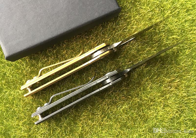 карманный подарок нож 440C лезвие стальная ручка шарикоподшипник флип складной нож открытый отдых на природе охота инструменты EDC