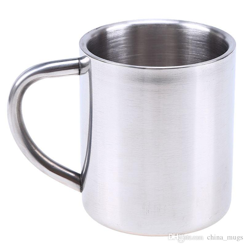 new stainless steel coffee mugs milk and coffee mugs thickened