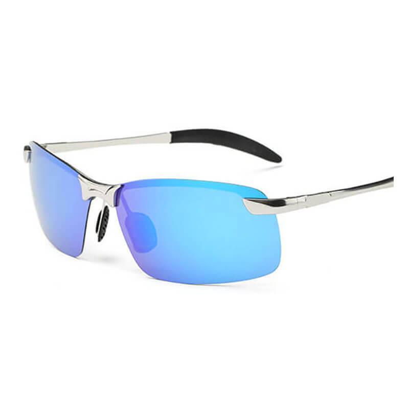 31b479956327f Compre Designer De Marca Clássico Polarizada Sem Aro Óculos De Sol Das  Mulheres Dos Homens Amarelo Noite De Condução Quadrado Óculos De Sol  Masculino Goggle ...