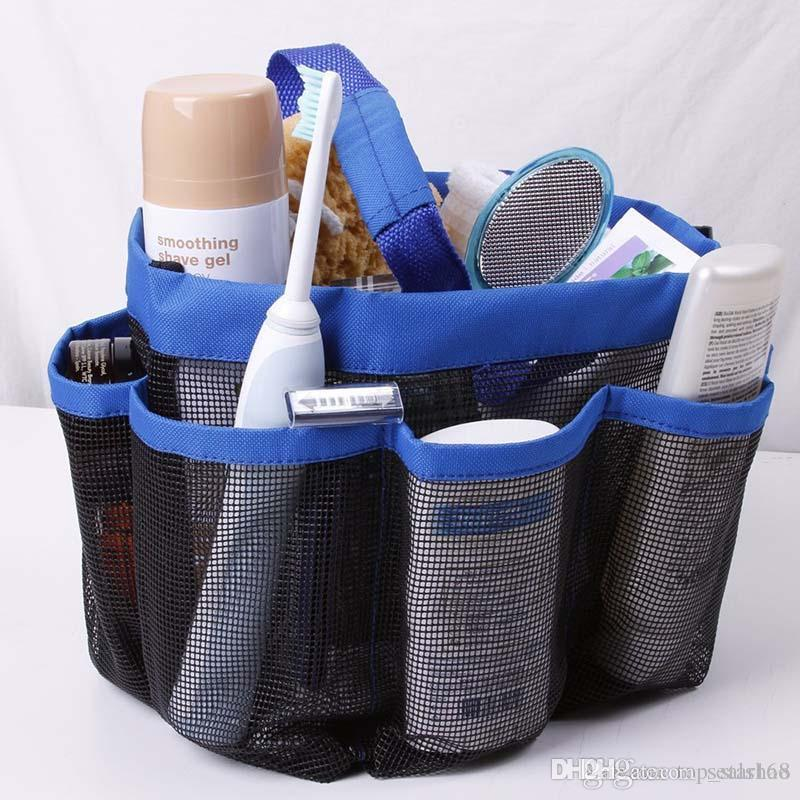 Buy Cheap Storage Bags For Big Save, 8 Pocket Shower Caddy Oxford ...