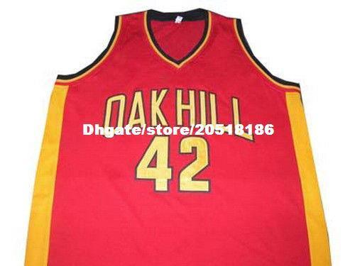 571fc01112a Cheap Mens JOSH SMITH OAK HILL ACADEMY JERSEY RED NEW ANY SIZE XS - 5XL Retro  Basketball Jerseys Cheap Basketball Jerseys Retro Basketball Jersey USA ...