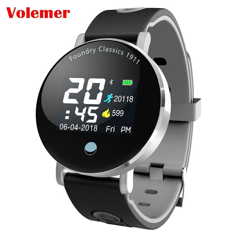 0cc260ebab9a Precios De Celulares Volemer Y6 Plus Reloj Inteligente Para Hombres Presión  Arterial Frecuencia Cardíaca Cronómetro Modo Deportivo Reloj Inteligente  Redondo ...