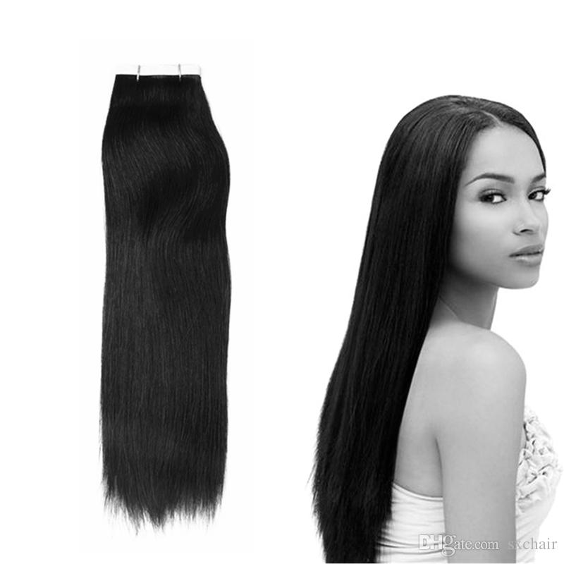 New Arrival 16inch Remy Pu Tape In Human Hair Extensions Skin Weft