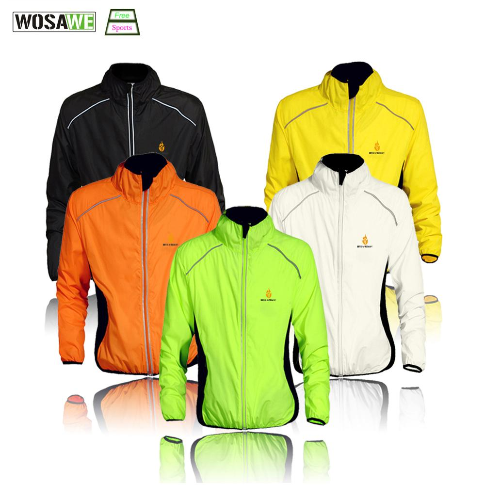 ef88d51fc WOSAWE Cycling Windbreaker Jacket Cycling Motocross Riding Outwear ...