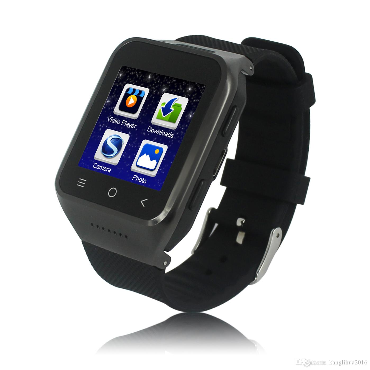 Android S8 Smart Watch Android 4.4 MTK6572 Dual Core Smartwatch 3G Phone Watch With GPS Wifi 2.0M Camera