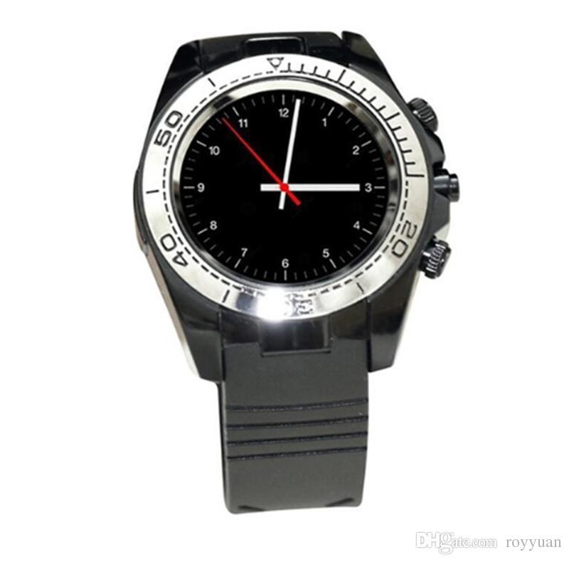 SW007 Bluetooth Smart Watch mit Kamera Schrittzähler Tragbare Geräte Unterstützung Sim TF Karte Männer Smartwatch für Android Phone