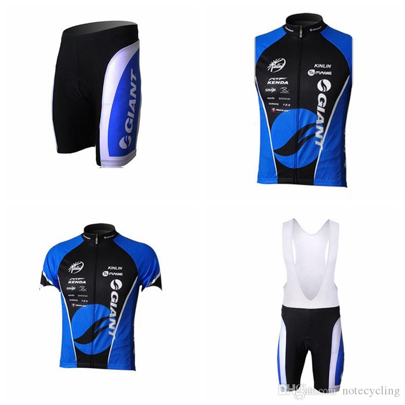GIANT Cycling Short Sleeves Jersey Bib Shorts Sleeveless Vest Sets Hot 2018 Jersey  Men S Bike Wear Shirt Outdoor Maillot Ropa Sport A41336 Cycling Jersey ... edb982170