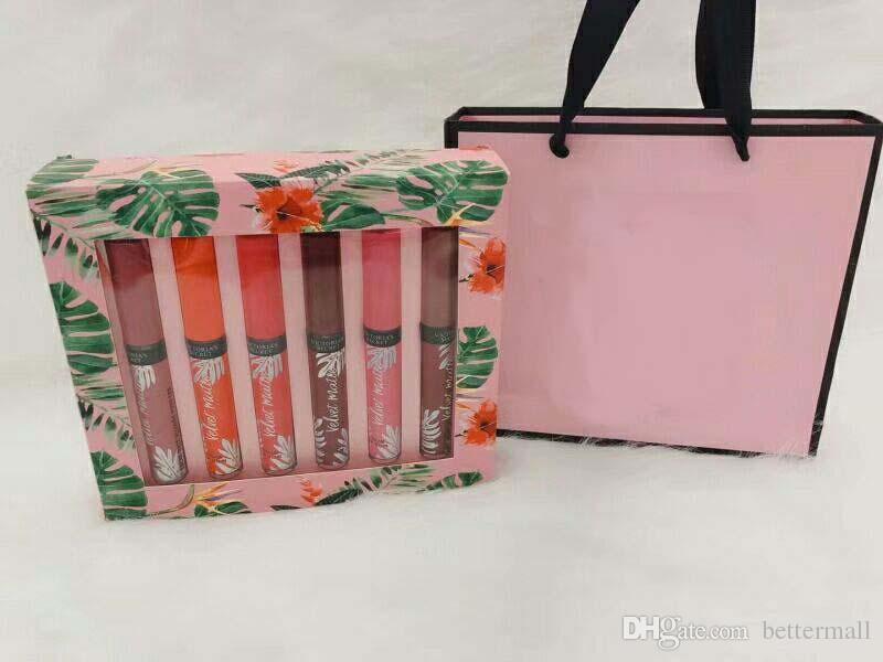 Popular Velvet Matte Color Lip Gloss Cosmetics set Waterproof long-lasting liquid lipsticks DHL Free
