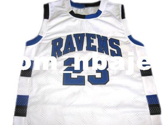 b1131b66ffef 2019 Wholesale Nathan Scott  23 Ravens One Tree Hill Basketball Jersey  White Stitched Custom Any Number Name MEN WOMEN YOUTH BASKETBALL JERSEYS  From ...