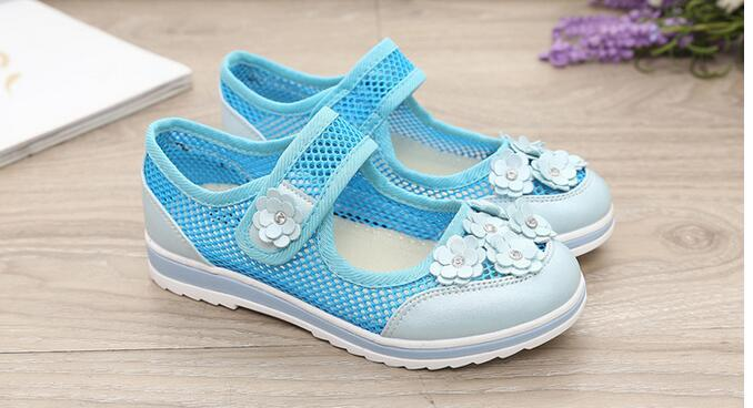 2017 summer breathable children shoes boys girls shoes fashion cut-outs kids sneakers casual boys sneakers light sneakers