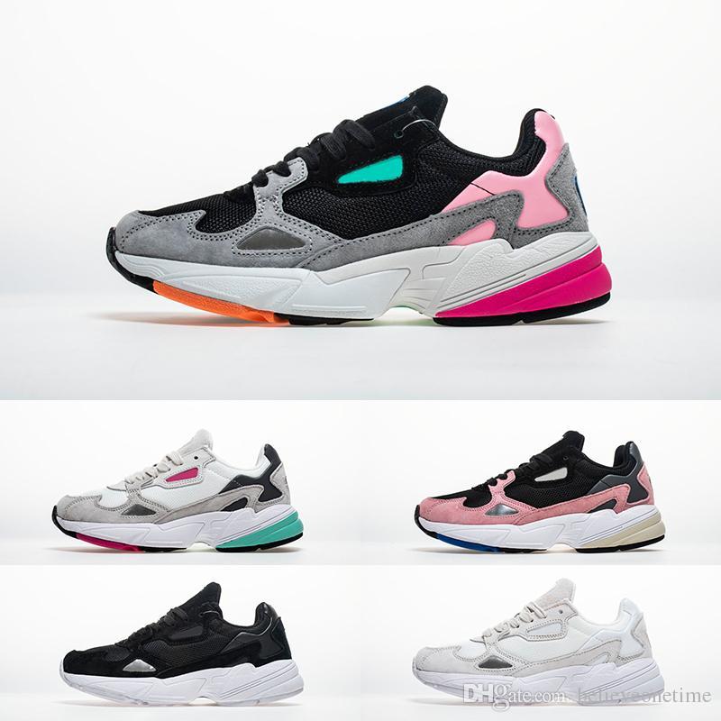 481633f0c Compre 2018 New Falcon W Dad Casual Designer Men Women Zapatos Falcon W  Fucsia Black Light Granite Gris Pink Fashion Luxury Sneakers Tamaño 36 45 A   57.47 ...