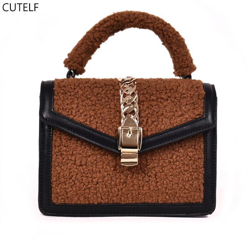 Crossbody Bags For Women 2018 Handbag Shoulder Bag Female Wool Flap Luxury  Purses And Handbags Designer Small Bolsa Feminina Satchels Leather Purses  From ... 33ab50c316
