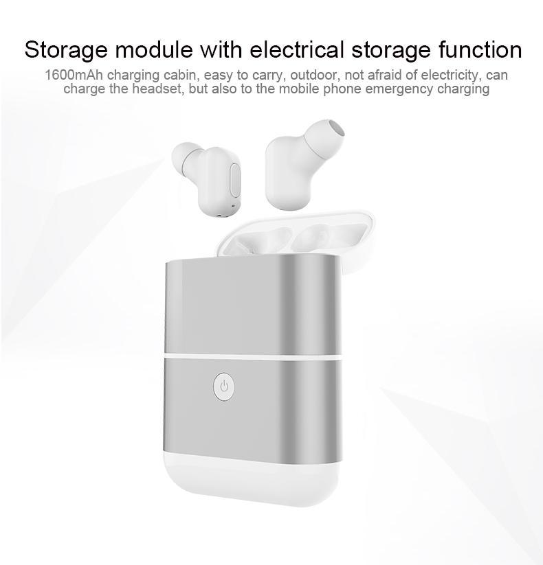 Sıcak Satış Yeni Mini Twins Kablosuz Bluetooth 4.2 Kulaklık Çift Kulaklık iphone Xiaomi Huawei Smartphon Için Mikrofon Ile Şarj Kutusu