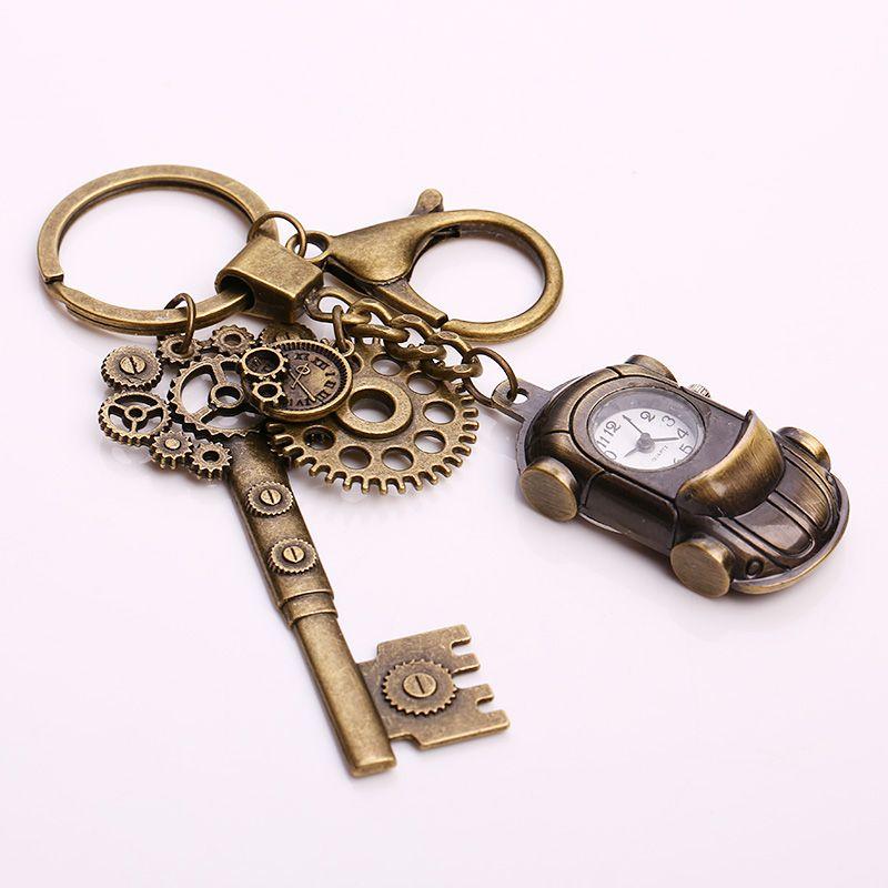 Kupla Metal Roadster Pocket Watch Keychain Vintage Steampunk Key Chains  Fashion Car Ring Keychain For Women Gift Designer Keychains Key Chain Holder  From ... 0bac6455a2