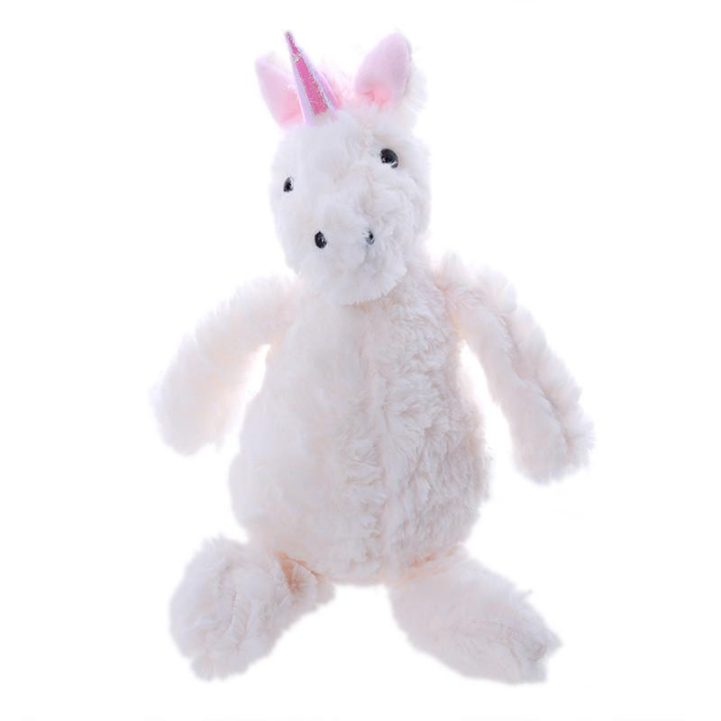 32cm Plush Stuffed Toys Unicorn Toy for Kids Animal Unicorn Dolls Horse Soft Christmas Gift Birthday for Girlfriend