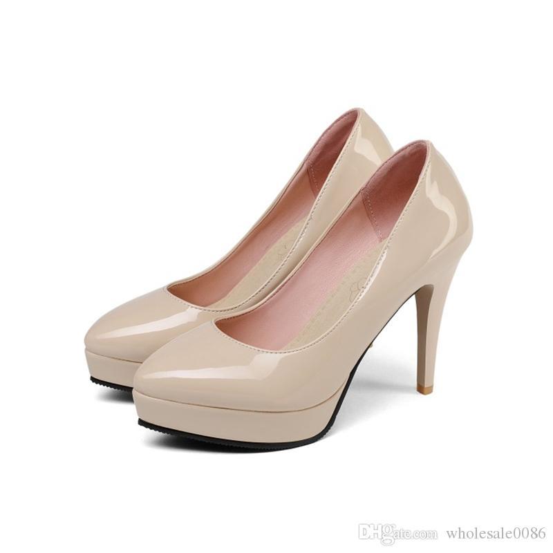 quality design 11666 52347 Großhandel Mode Damen Stiletto High Heel Court Schuhe Damen Zehen Zehen  Plattform Sandalen Pumpe S572 US Größe 4 10.5 Von Wholesale0086,  26.29 Auf  De.