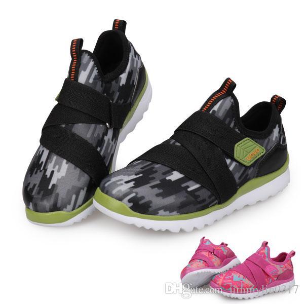 6e85716d6b9 Compre UOVO Niños Primavera Zapatos Para Niños Y Niñas 2018 Nuevos Niños  Pequeños Zapatos Respirables Moda Zapatos Niños Talla De Calzado 27 # 38 #  A $21.31 ...