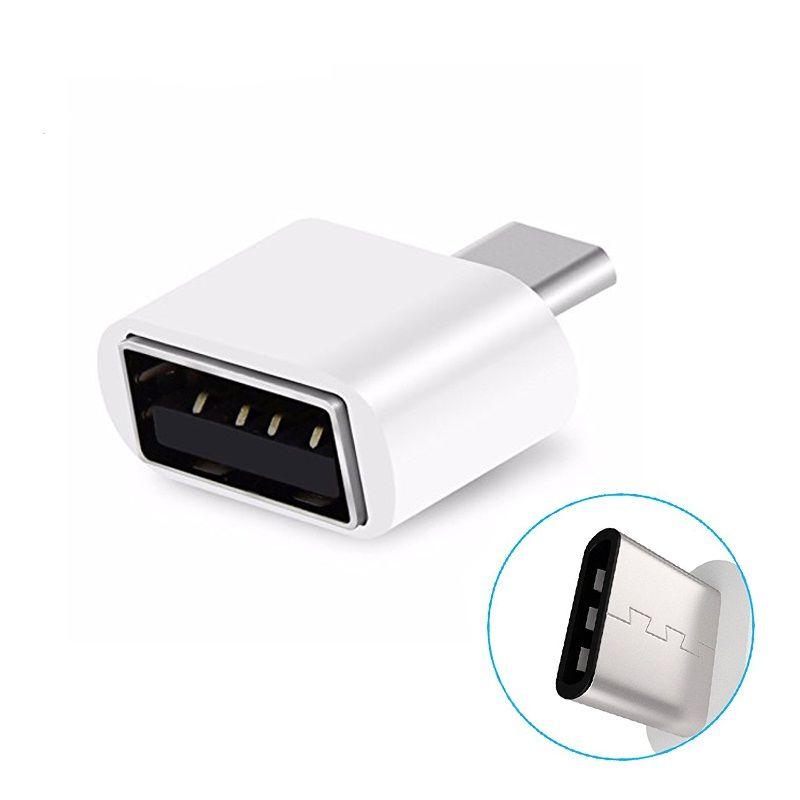 Tip C USB 3.0 OTG Adaptör Tip-C Erkek Kadın USB OTG Dönüştürücü Için App 5 s artı 4C Samsung S8 Nexus 6 P