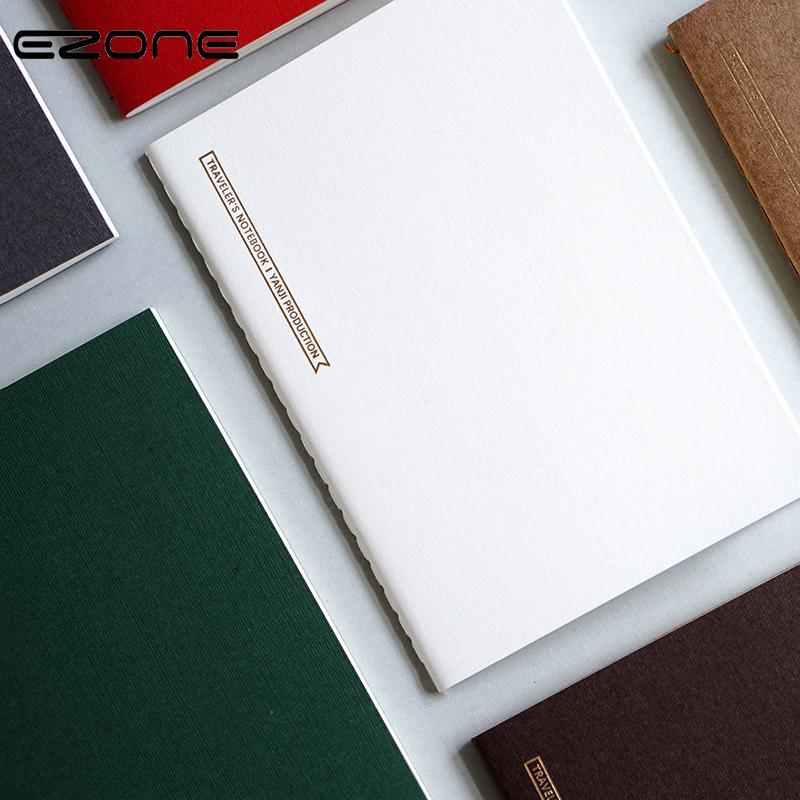 Compre Ezone Cuaderno Simple En Blanco / Cuadrícula / Línea / Plan ...