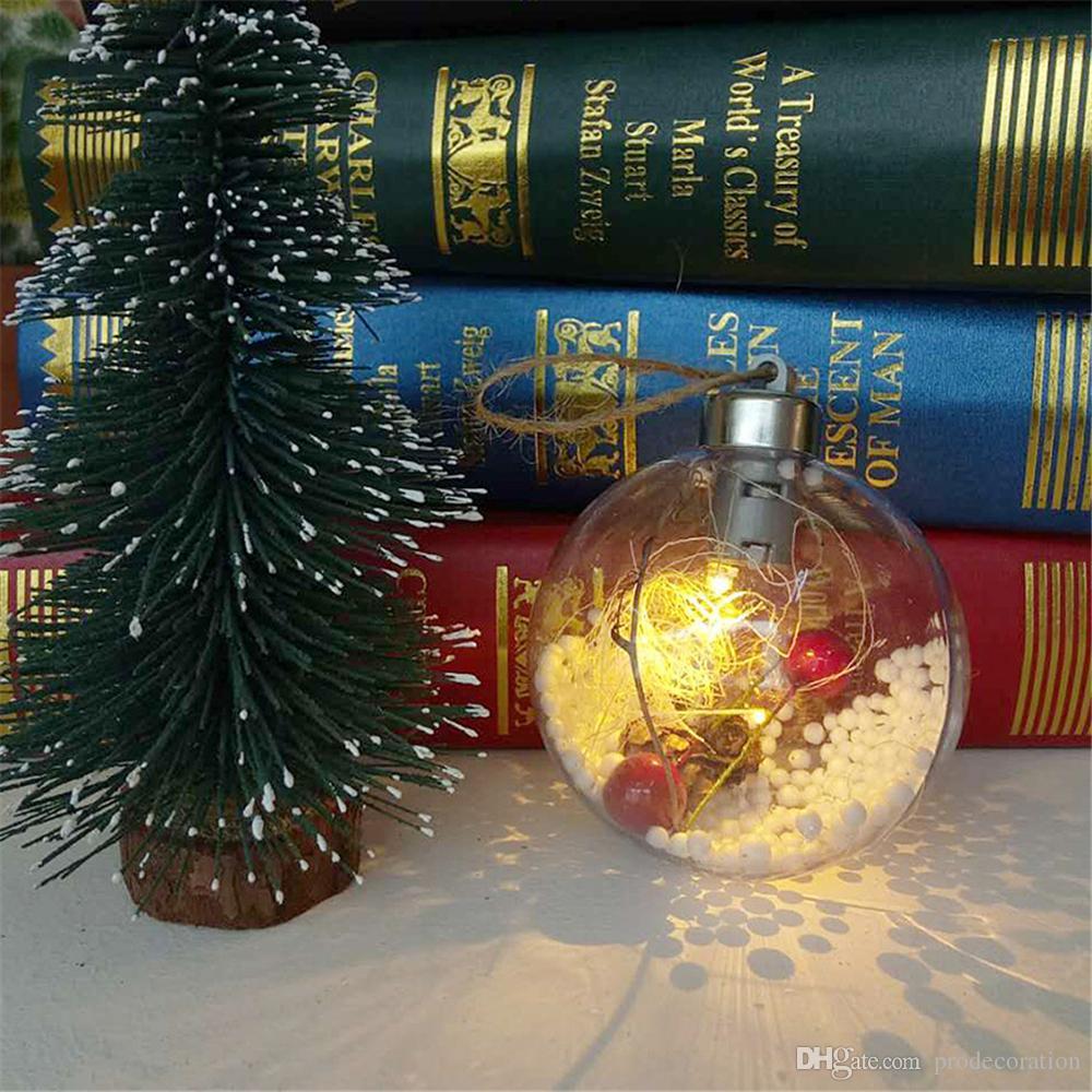 Festive Air Christmas Tree Decorations Led Transparent